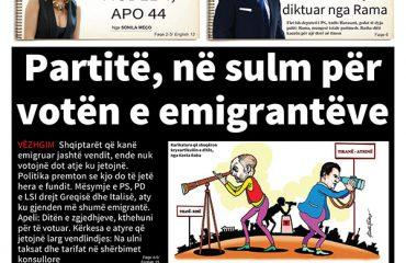 """Lexoni sot në gazetën e përditshme """"Albanian Free Press"""""""