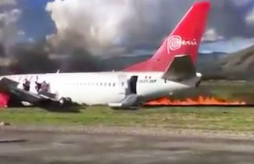 Peru, avioni në flakë, shpëtojnë 141 pasagjerët (Video)