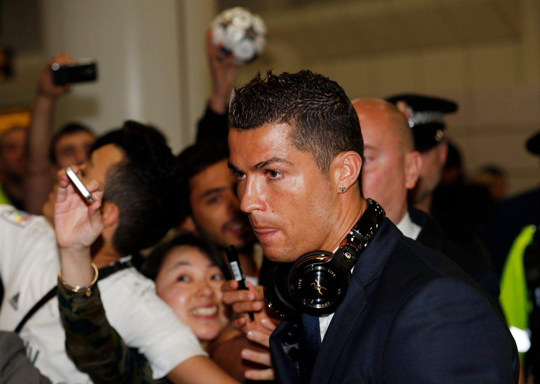 Ronaldo, në spektaklin e çeljes së Botërorit