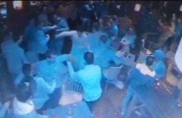 I gjithë lokali në sherr (Video)