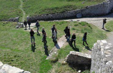 Operatorët turistikë italianë vizitojnë kalanë e Shkodrës