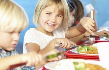 Problemet me shëndetin, ushqim falas dhe i kontrolluar për fëmijët e shkollave