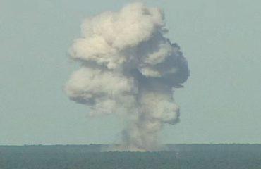 """Shpërthimi i """"nënës"""" së të gjitha bombave në Afganistan (Video)"""