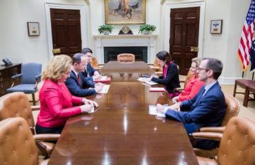 Foreign Minister Bushati meets with President Trump's deputy advisor