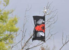 """Dron me flamurin e """"Shqipërisë së Madhe"""" mbi stadiumin e Shkupit, reagon politika"""