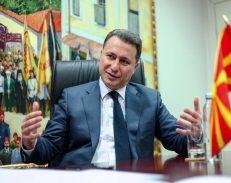 Situata në Maqedoni, Gruevski: Dhuna nuk është zgjidhje