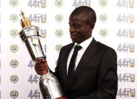 Angli, N'golo Kante lojtari më i mirë i vitit