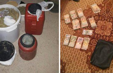 Arrestohen 3 persona në Korçë, pas kontrollit në banesë kapen 12 kg kanabis