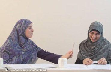 """""""Leksioni"""" i mësueses myslimane: Si të rrihni femrat me shkop! (Video)"""