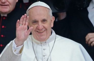 Pope refers to the floods in Albania