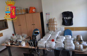 Itali, arrestohet shqiptari me 83 kg drogë të fshehura në banesë
