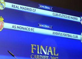 Derbi i Madridit në gjysmëfinale, Juventus luan me Monakon