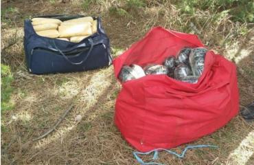 Zbulohen 121 pako me kanabis në kufirin shqiptaro-grek