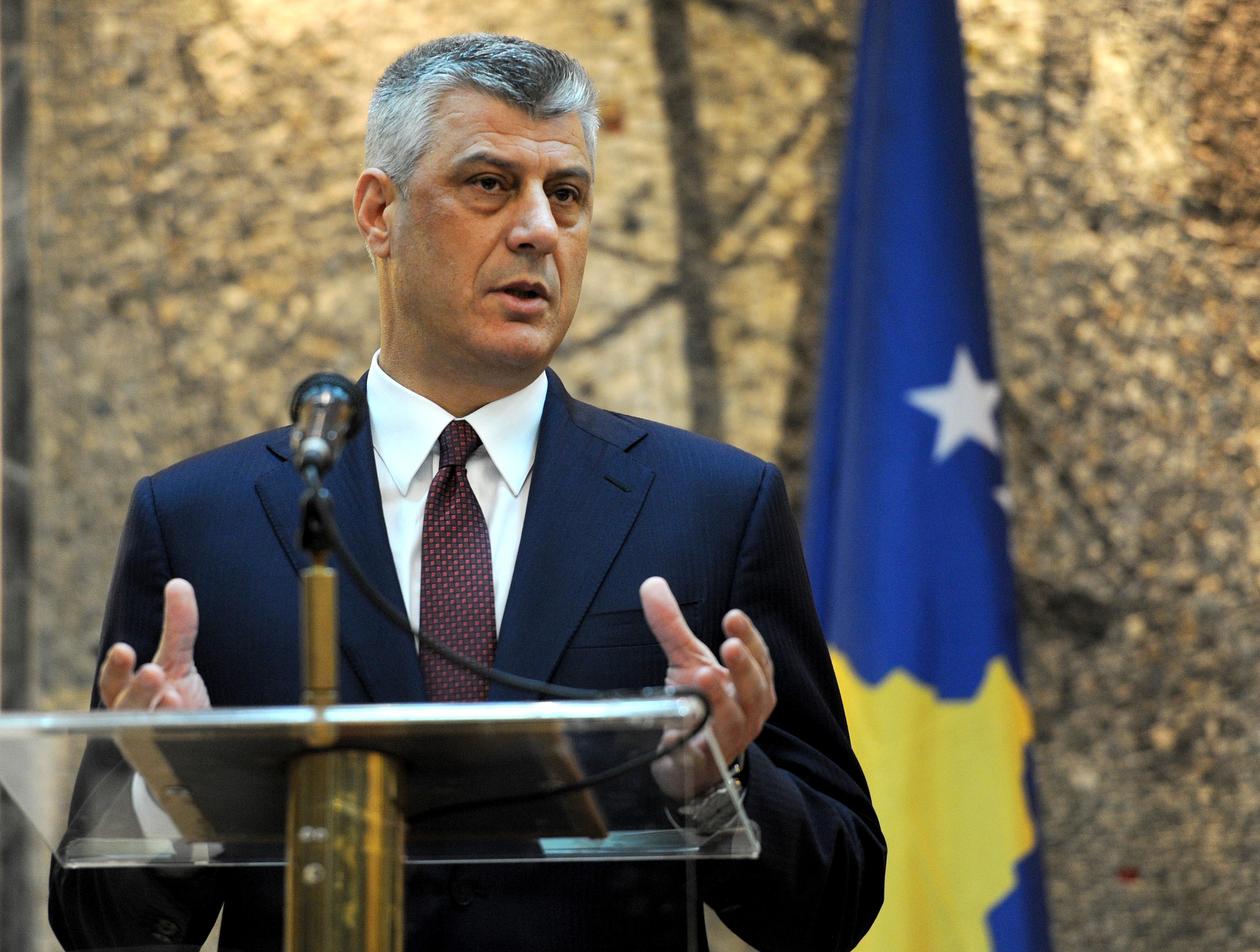 Thaçi: Do të padis Serbinë për gjenocid në Kosovë