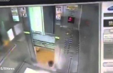 Ta marrësh apo jo ashensorin?! (Video)