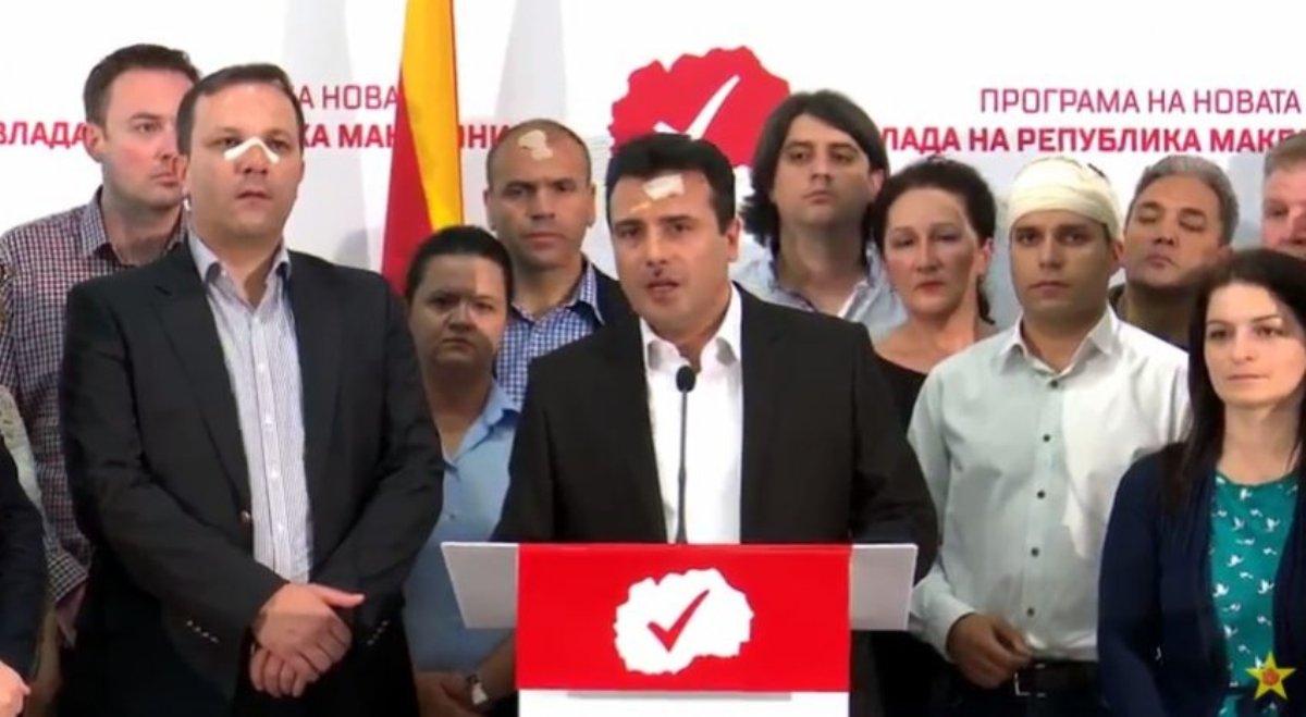 Dhuna në Maqedoni, Zaev: Skenar për vrasje në Parlament