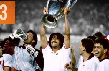 Ajax e Brazil të viteve '70...Milan, ekipi i tretë më i fortë i të gjitha kohërave