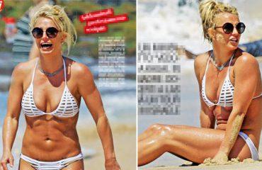 Britney Spears, bikini perfekt në plazh falë 'toyboy'-it të saj