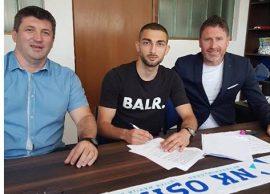 Zyrtare Eros Grezda firmos për Osijek