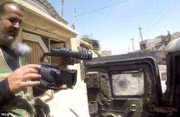 Irak, kamera kthehet në 'anti-plumb' për gazetarin (Video)