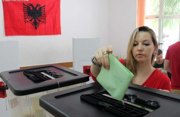 Albanians vote for the new Parliament