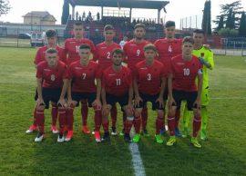 Lazio Cup Shqipëria U19 e Bogdanit barazim pa