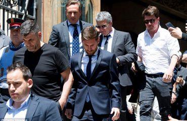 Lionel Messi, 21 muaj burg nga Gjykata Supreme