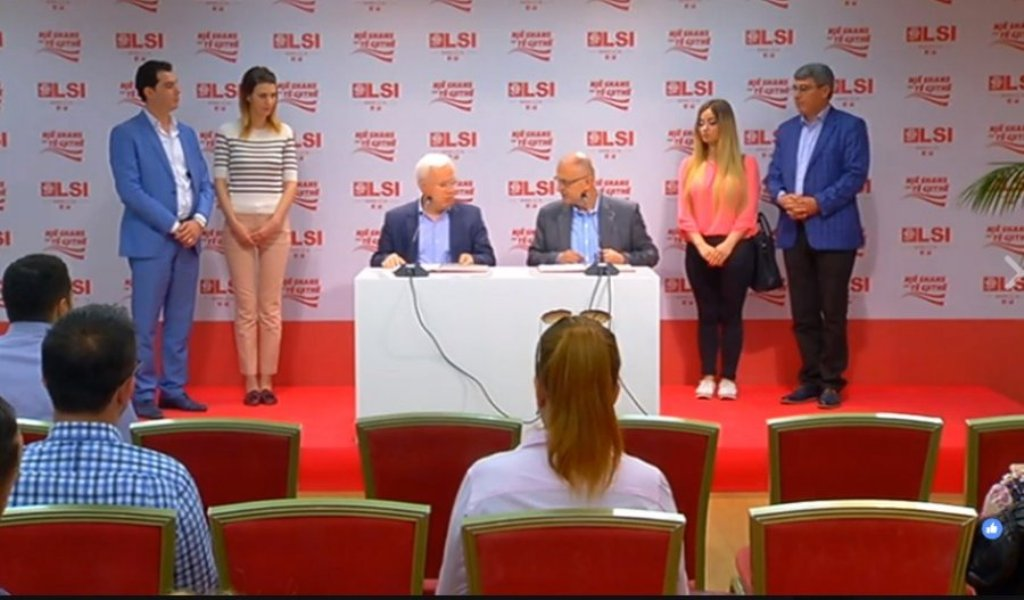 June 25 elections, SMI and SDP sign an agreement