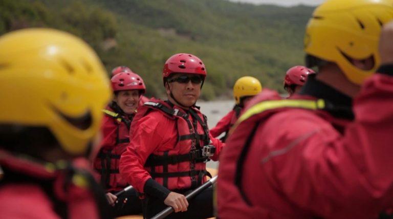 Donald Lu, rafting në kanionet e Osumit