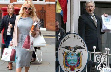 Pamela Anderson nuk fshihet: Po, e dua Julian Assange
