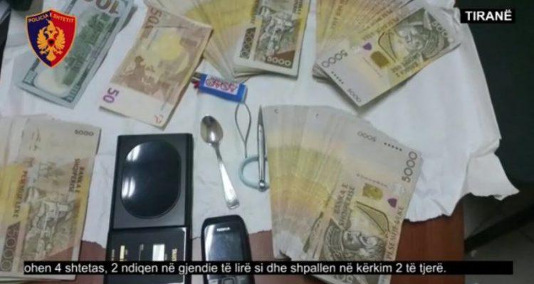 Shpërndanin lëndë narkotike në Tiranë, shkatërrohet grupi
