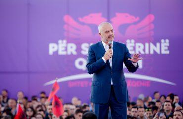 Rama në Fier: Na duhet fuqia juaj për të vijuar reformat