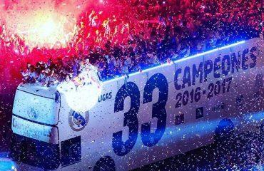 Festa e titullit me numrin 33, në Madrid!
