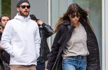Justin Timberlake, sherr në rrugë me bashkëshorten