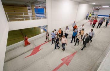 Bulevardi i Ri, Veliaj përuron parkimin e dytë nëntokësor publik