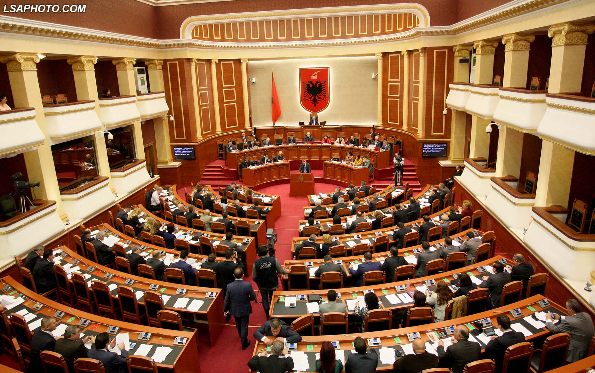 Debates in parliament over the new bill concerning minorities