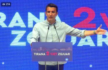 Veliaj: Rama ishte për ne kur Tirana kishte nevojë, sot ka nevojë ai për Tiranën
