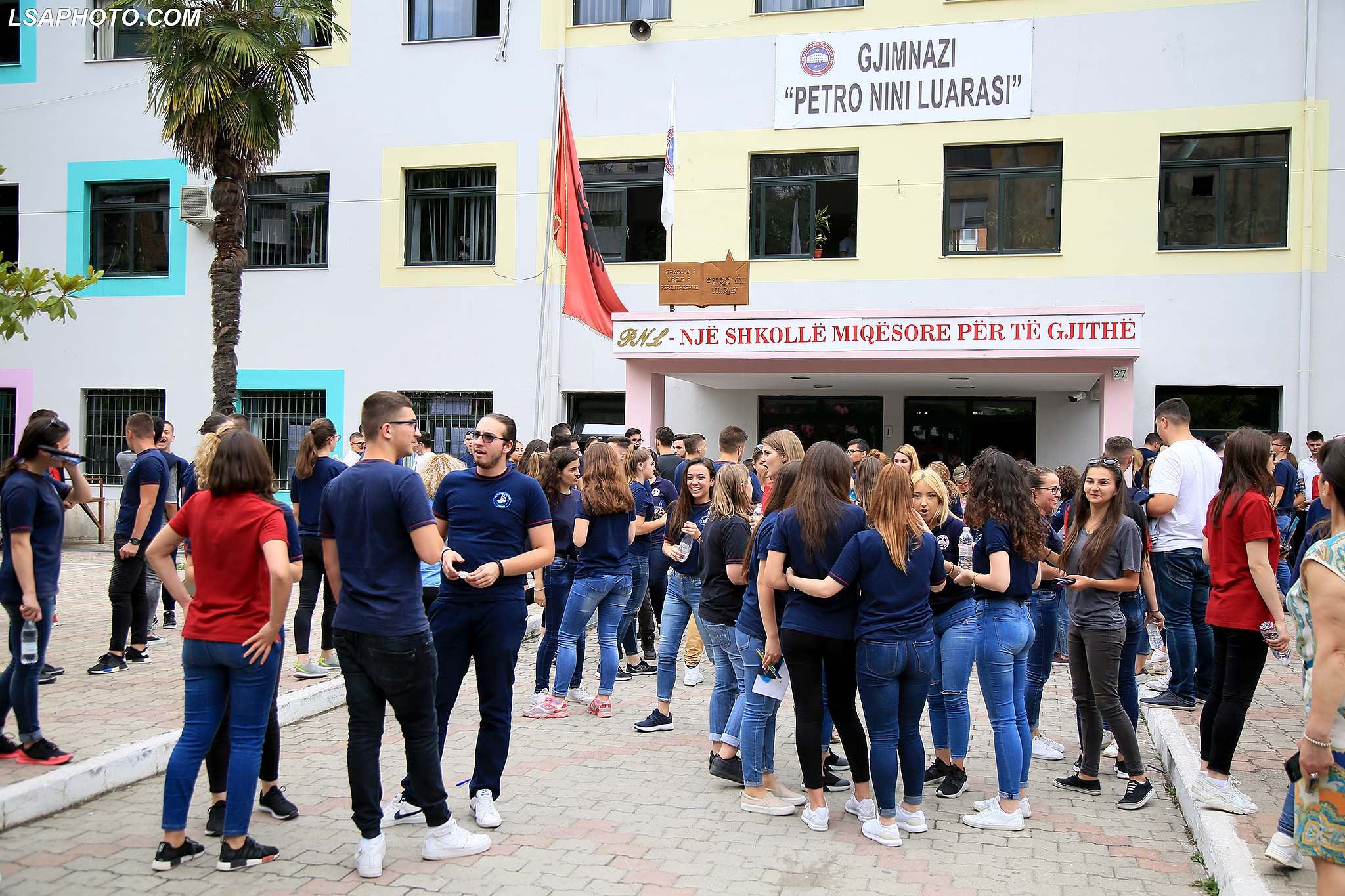 Novelty in Tirana: Students to have lunch and do their homework at school
