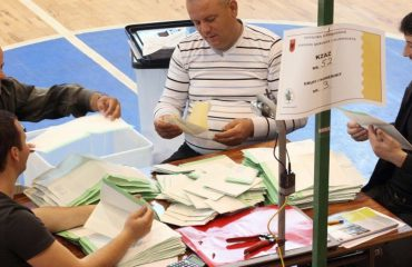 First ballot boxes counted, SP dominates