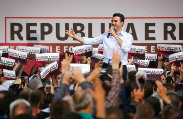 Basha në Lezhë dhe Shkodër: Rrëzoni pushtetin me votë