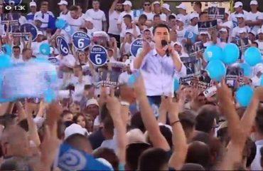Basha në Tiranë: Të dielën votojmë për ekonominë, jo për Ismail Qemalin