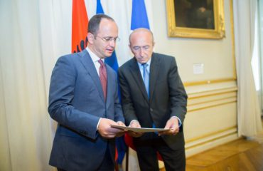 Bushati in Paris meets the French Interior Minister