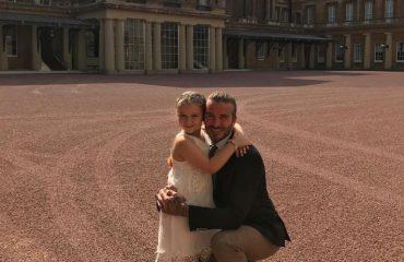Vitet kalojnë! Beckham nuk e beson që vajza e tij mbushi 6-vjeçe (urimi për ditëlindje)