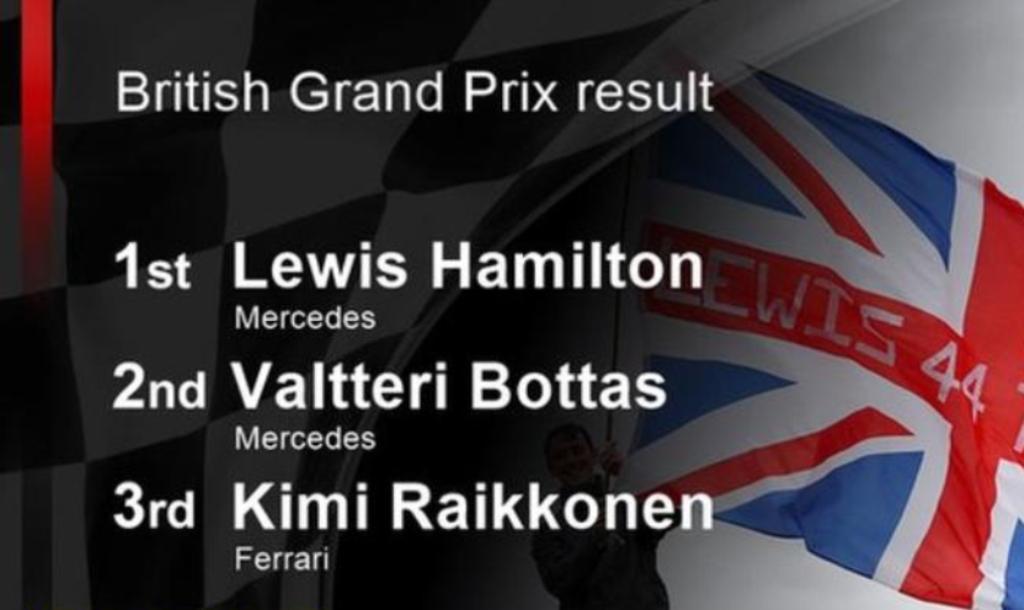 Mercedes me Hamilton dominues në Çmimin e Madh të Britanisë