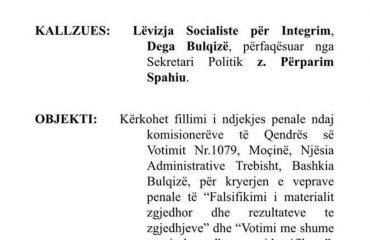 LSI, padi komisionerëve të Bulqizës: Vodhën për PS-në, PD-në dhe PDIU-në