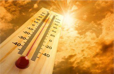 Dielli sot ua lë vendin reve, bien temperaturat e larta
