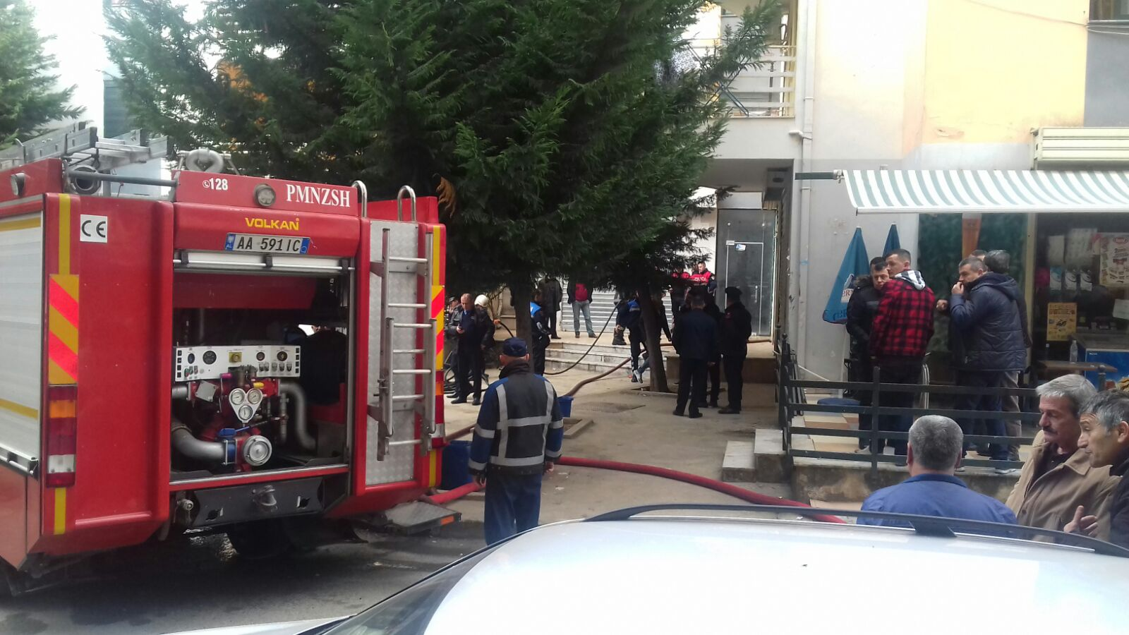 Massive fire in Velipoja