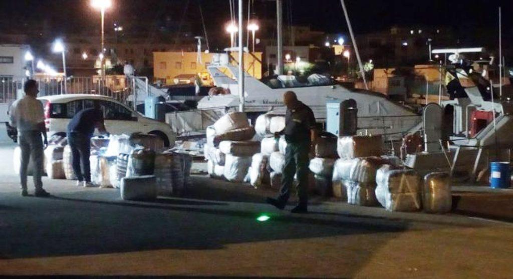 Trafikimi i 2.5 ton kanabis në Itali, doganierë e policë të implikuar