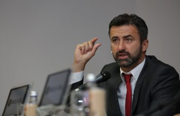 Panucci delivers a news conference ahead of two crucial fixtures