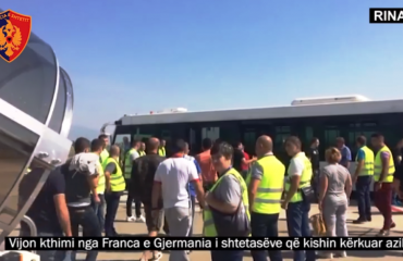157 Albanians repatriated from Germany and France